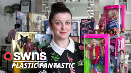 40-year-old UK mum has spent £3,500 in five months on BARBIE DOLL collection - RAW