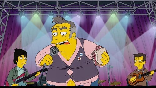 Morrissey is enraged at 'The Simpsons' for this portrayal
