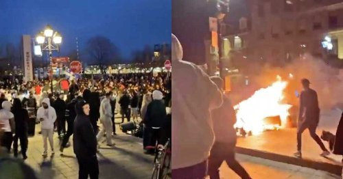 video Shows What Montreal's Anti-Curfew Protest Last Night Looked Like