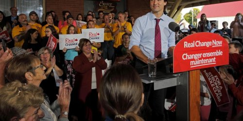 Justin Trudeau Says He Plans On Being In Charge Of The Liberals Next Election