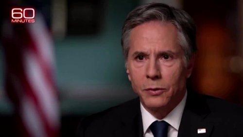U.S. will defend against China -Blinken interview