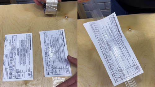 'Russian Man Shares Helpful Lifehack for Removing Tape from Paper Without Tearing it'