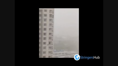 India: Massive Dust Storm Strikes Delhi-NCR Causing Poor Air Quality