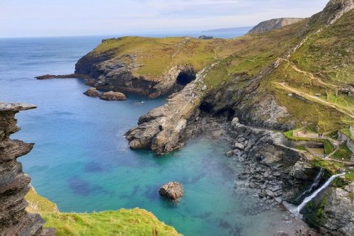 A guide to Tintagel the birth home of King Arthur