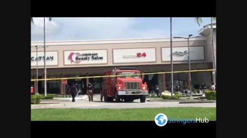 Panama: Explosion At Shopping Mall In Coloncito, Panamá Oeste
