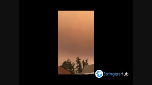 Canada: Smoke From Several Wildfires In Kamloops, British Columbia