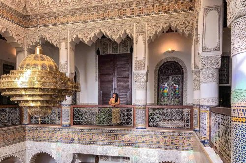 WHAT IS IT LIKE TO STAY IN A TRADITIONAL MOROCCAN RIAD?