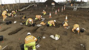 Archeologists Unearth 9,000+ Bodies From UK Burial Ground During Road Work Construction