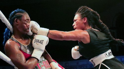 The MMA Debut Of Claressa Shields
