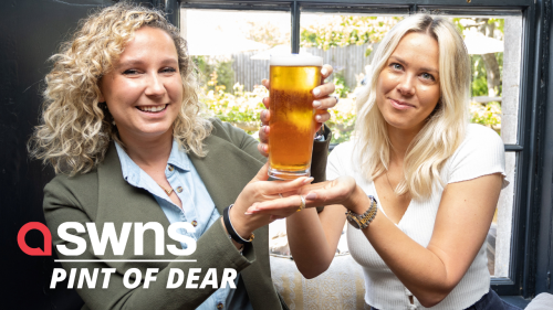 A pub has sold Britain's most expensive pint for £755 (RAW)