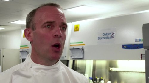UK wants world vaccinated by middle of 2022, Raab says