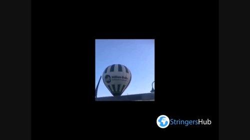 UK: Hot Air Balloon Crashes Into Pub In Sutton-In-Ashfield