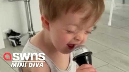 This music loving kid channelling Whitney Houston will melt your heart