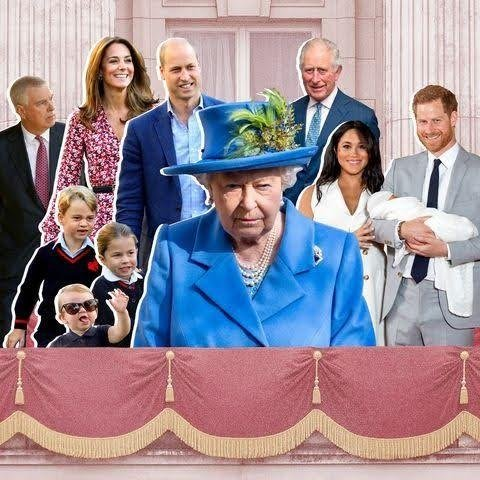 Great Britian's Royal Family  - cover