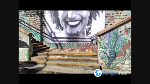 Brazil: Cleaning and restoration of the image of Marielle Franco In Sao Paulo 2