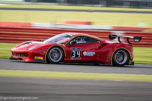 Ferrari 488 GT3 Blancpain GT Series Silverstone