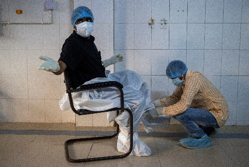 Special Report: Last doctor standing - Pandemic pushes Indian hospital to brink