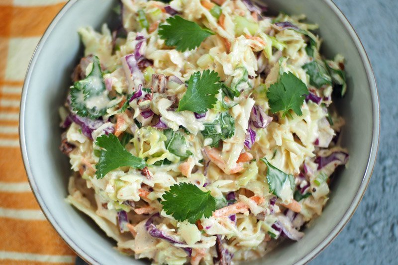 Keto Cole Slaw and Other Summer Recipes