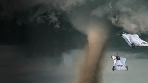 What If You Skydived Into a Tornado?