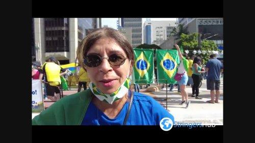 Thousands in Sao Paulo, Brazil rally for Bolsonaro, ignoring virus