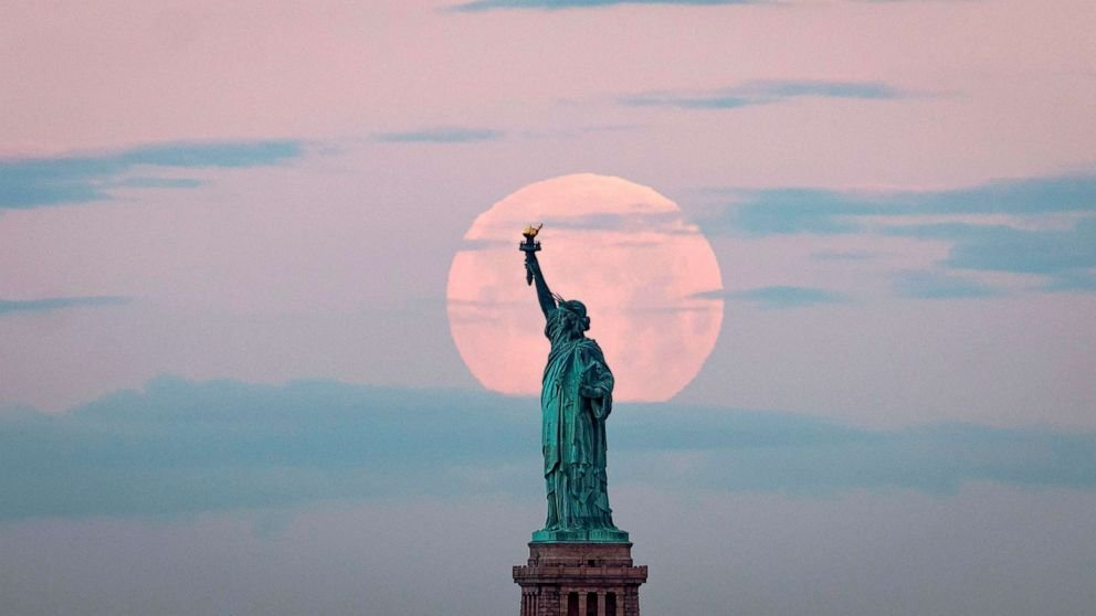 Look up Tonight to See the Super Pink Moon