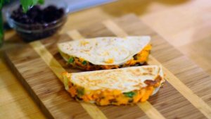 These Hearty Sweet Potato and Chipotle Quesadillas With Have Your Mouth Watering!