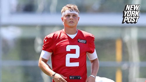 Zach Wilson a no-show for Jets training camp as contract battle lingers