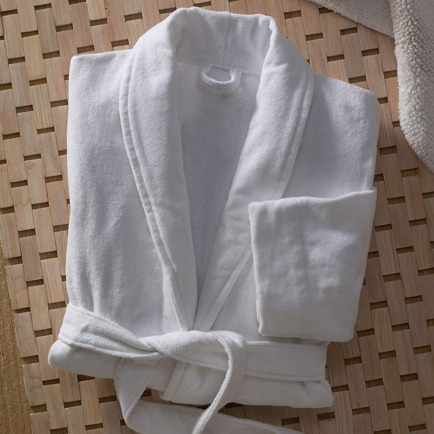 Velour cotton robe from the Marriott Hotel