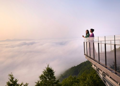 A Walk In The Clouds Above Central Hokkaido