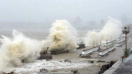 Cyclone Tauktae makes landfall in India's Gujarat