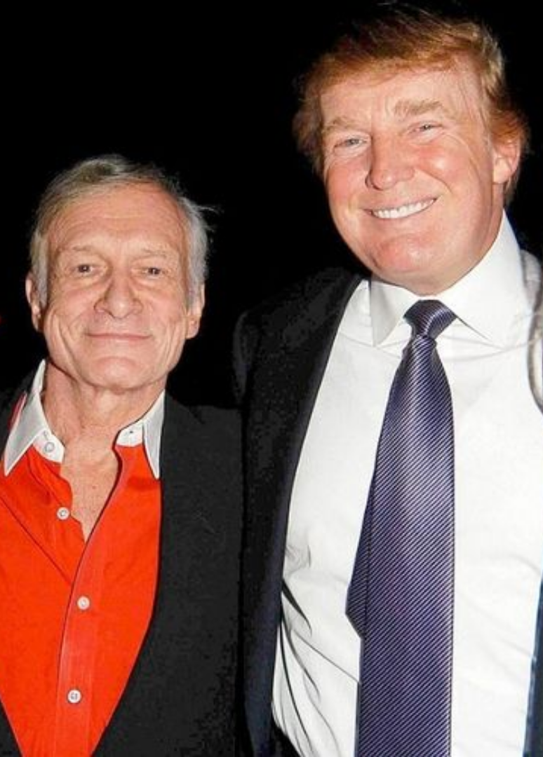 Hugh Hefner Ended His Friendship With Donald Trump For This Reason