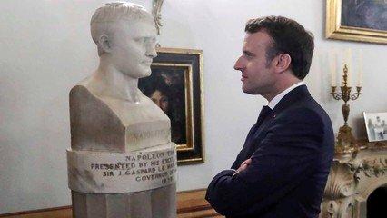 France's Macron marks bicentenary of Napoleon's death