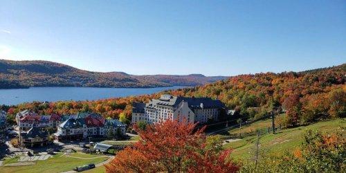 Cette carte te montre où aller pour voir les plus belles couleurs cet automne