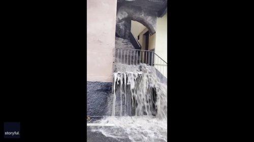Damaging Flooding and Landslides Strike Lake Como Area