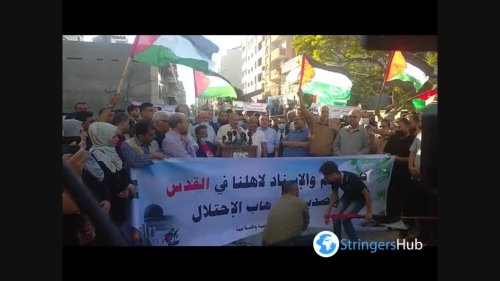 The Palestinian March in Gaza 1