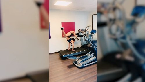 Handstand Treadmill Workout & More!   Best Of The Week