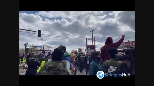 US: George Floyd Supporters In Minnesota Celebrate Derek Chauvin's Guilty Verdict