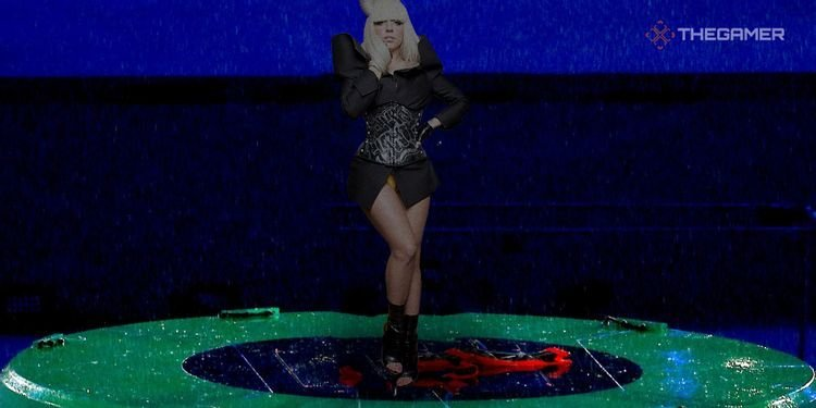 Lady Gaga Was Meant To Pop Out Of A Warp Pipe At The Olympics