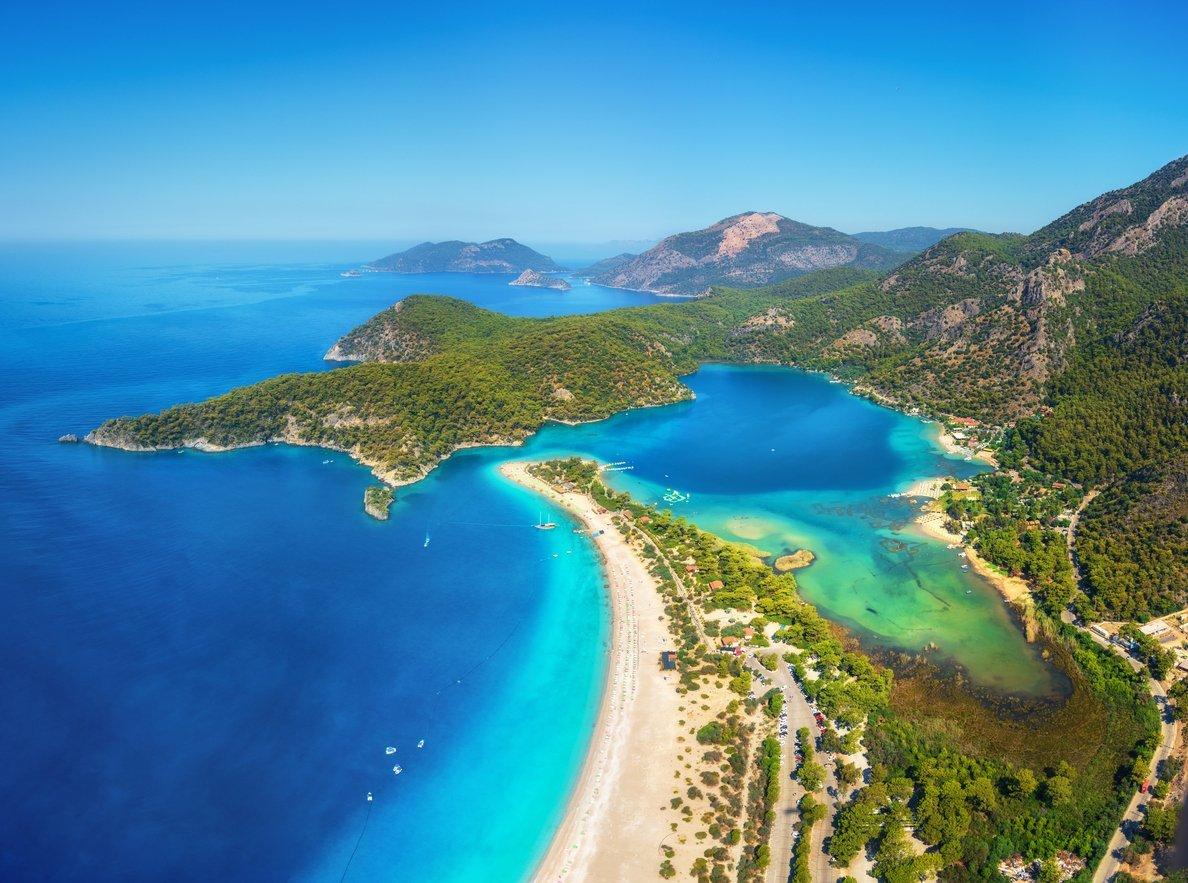 Die Türkei - das beliebte Badeziel