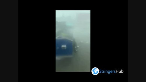 US: Severe Storm Brings Ferocious Winds And Rain To Louisiana