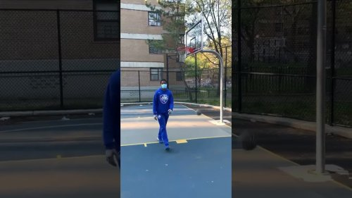 Accurate Basketball Player Never Misses Hoop!