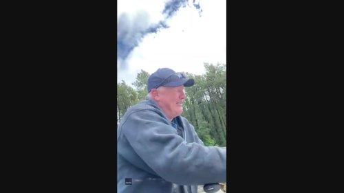 Anglers Witness Massive Sturgeon Leaping From British Columbia River