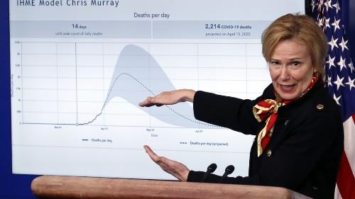 Dr. Birx: Trump Used Graphs I Didn't Make