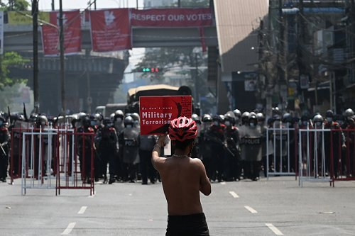 Protesters Killed in Myanmar