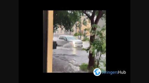 US: Heavy Rains Cause Flooding In Charleston, South Carolina