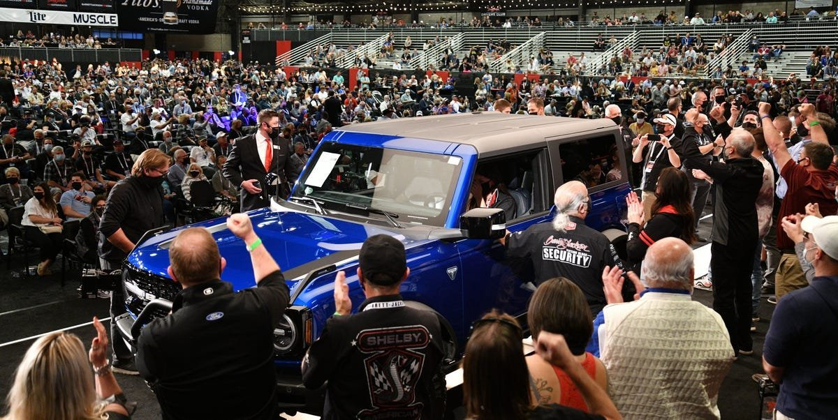2021 Ford Bronco First Edition, VIN 001, Auctioned for More Than $1 Million