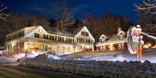 Cet hôtel magique où c'est Noël à l'année est à 4h de Montréal et c'est le rêve!