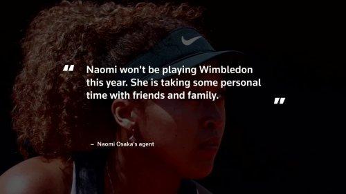 Osaka pulls out of Wimbledon