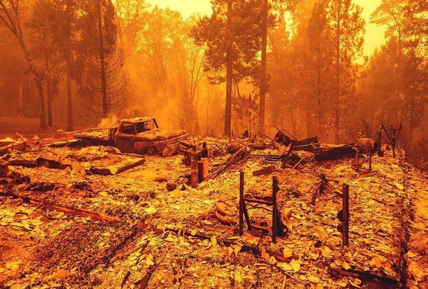 West Coast Wildfires