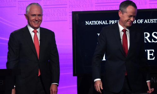 Australian election 2016: we will meet tougher targets on climate change, Turnbull says in leaders' debate